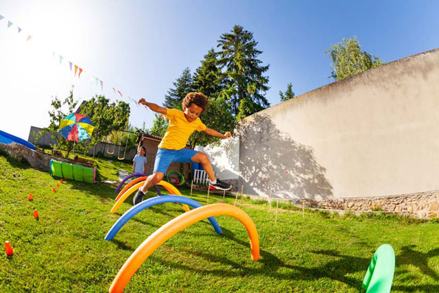 Backyard activities for your kids this summer.