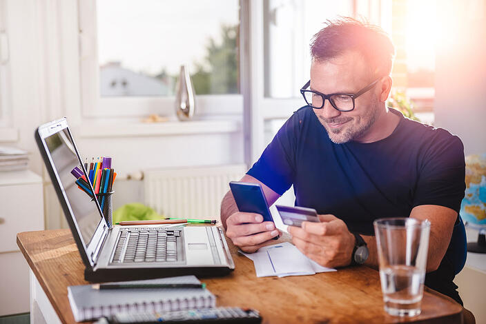 Improve your credit score with revolving line of credit.