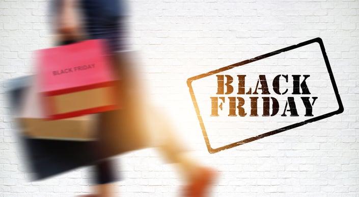 Shopping on Black Friday
